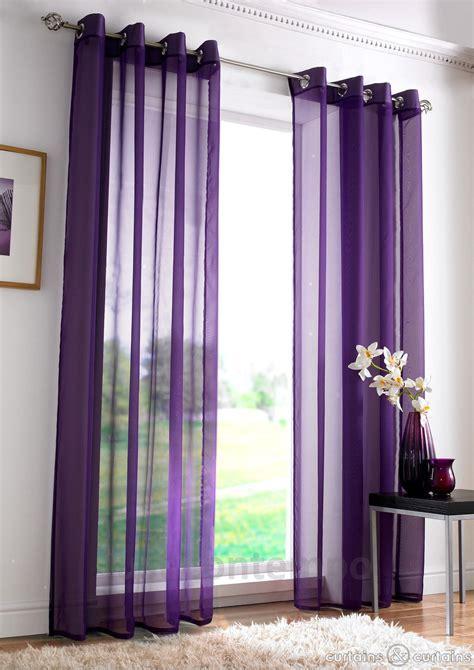awful purple transparent modern drapes for inspiring