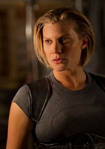 EXCLUSIVE: Katee Sackhoff Holds Her Own Against the Guys ...