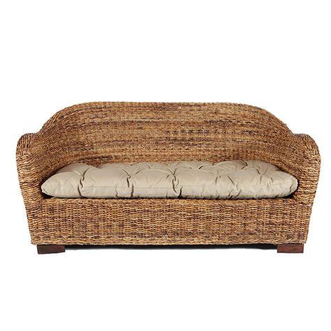 canapé en rotin canapé en rotin maison achat canapé rotin deux places