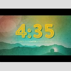 Colorful Easter Sunday Countdown  Centerline New Media  Worshiphouse Media