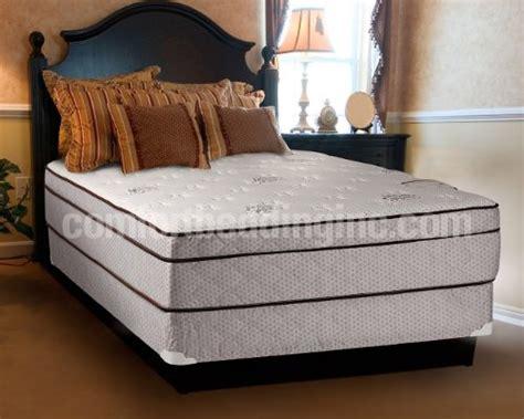 king size mattress and boxspring set dreamy rest pillow top top king size mattress and