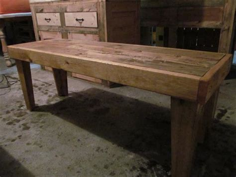diy rustic  sturdy pallet bench seat pallet furniture
