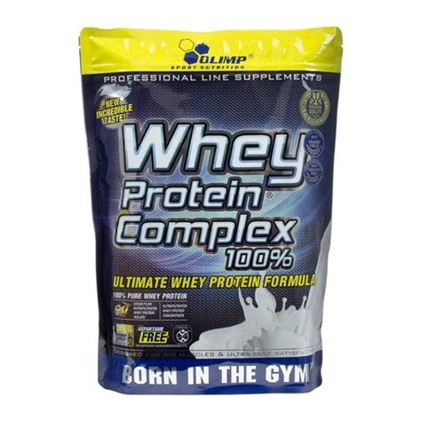 Olimp Whey Protein Complex 100% Chocolate powder with BCAAs
