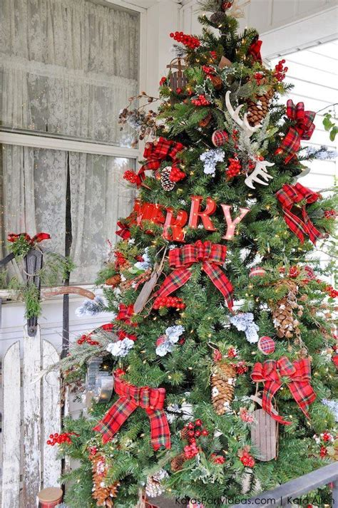 ideas  christmas tree decorations casuable everyday
