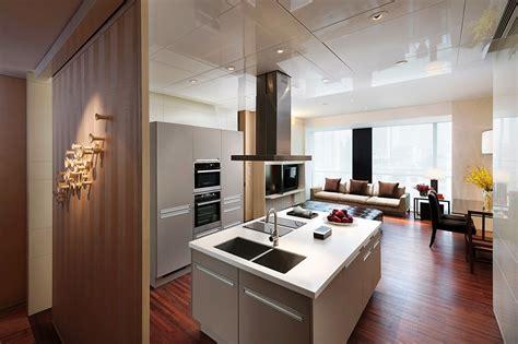 cuisine high tech fonds d 39 ecran aménagement d 39 intérieur cuisine table high tech style plafond télécharger photo