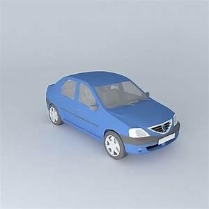 Dacia Logan 3d Model Free