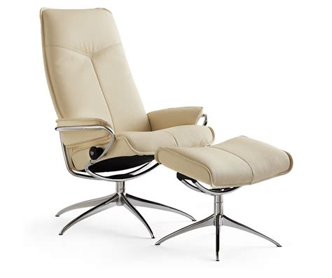 city highback leather chair with high base decorium