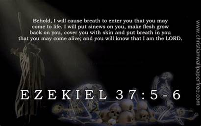 Bible Ezekiel Verse Christianwallpaperfree Quotes