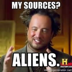 Aliens Meme Generator - 17 best images about popular media on pinterest mma aliens and interview