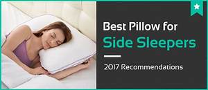 5 best pillows for side sleepers jan 2018 reviews With best memory foam pillow for stomach sleepers