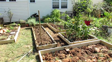 Designing A Raised Bed Vegetable Garden Fall Makeover