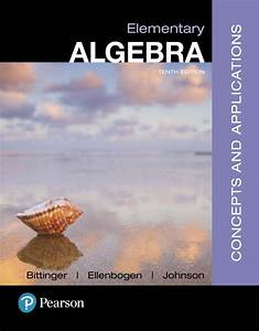 Elementary Algebra Concepts And Applications 10th Edition