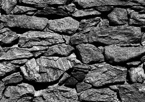 Fototapete Tapete Steine Steintapete Steinwand Grau Stein