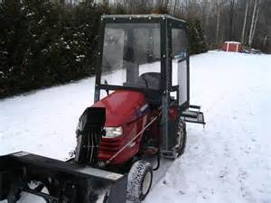 dgt6k home made snowcab page 2 mytractorforum