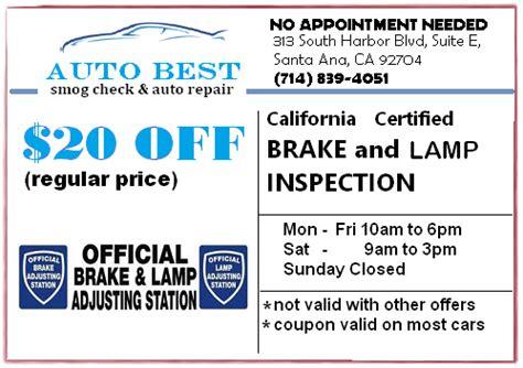 brake and l inspection brake light inspection autobest santa ana