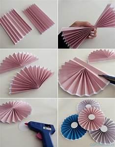 Papillon Papier De Soie : diy le tuto des rosaces en papier niveau facile ~ Zukunftsfamilie.com Idées de Décoration