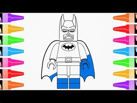 draw lego batman art drawing coloring youtube