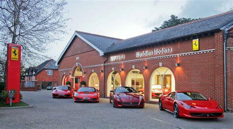 Ferrari Dealer's Relaunch