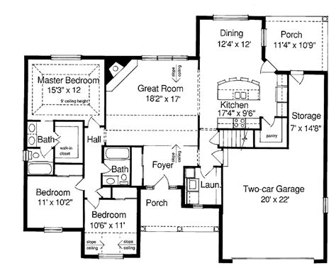 homes floor ranch style house plans home plan house