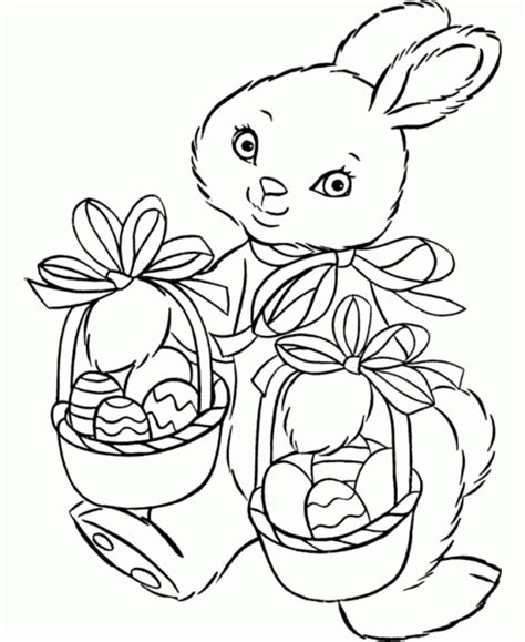 easter bunny coloring pages free printable easter bunny coloring pages for
