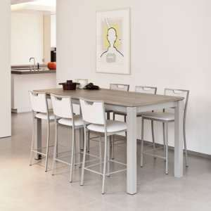 table cuisine 4 personnes table hauteur 90 cm 4 pieds