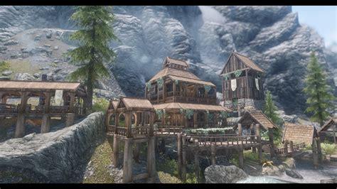 JK's Riverfall Cottage 家 - Skyrim Special Edition Mod データベース MOD紹介・まとめサイト