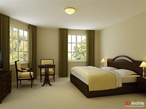 Small And Elegant Bedroom Interiors