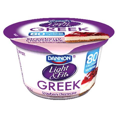light and fit greek yogurt nutrition dannon light fit strawberry cheesecake greek yogurt