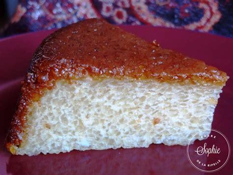 jeux de cuisine de de gateau gâteau de tapioca au caramel sans gluten la tendresse