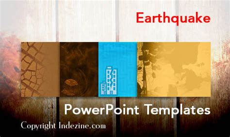 earthquake powerpoint templates