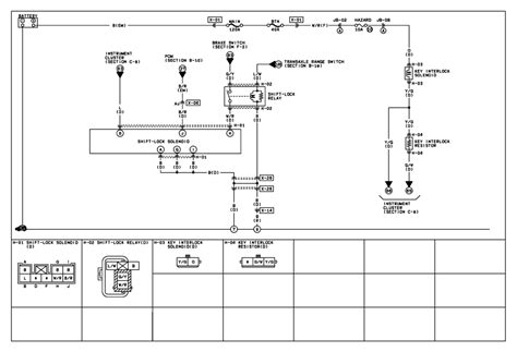 interlock device diagram for wiring repair guides key interlock system 2000 key interlock system shift lock system wiring