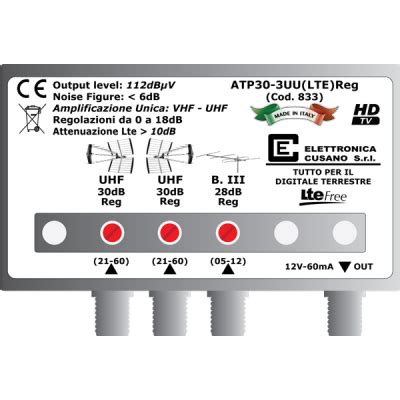 Buy SIGNAL AMPLIFIER SUPPORT POLE 30DB - ATP30-3UU(LTE) discounted price 18€ in our shop ...