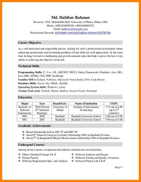 Curricular Activities In Resume Exles by Awesome Cv Resume 5 What Is A Curriculum Vitae How To