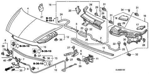 Honda Fit Diagram by Oem 2007 Honda Fit 5 Door Engine Parts