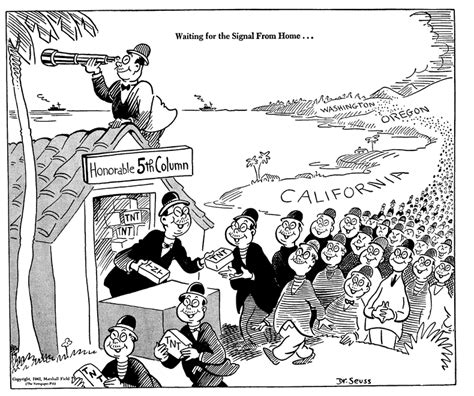 Dr. Seuss Draws Anti-Japanese Cartoons During WWII, Then Atones with Horton Hears a Who! | Open ...
