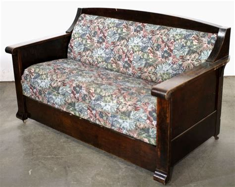 antique sleeper sofa antique sofa bed 1905 15 empire mission style quartersawn oak sofa murphy antique bed thesofa
