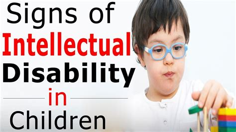 what is intellectual disability what are the signs of 814 | maxresdefault