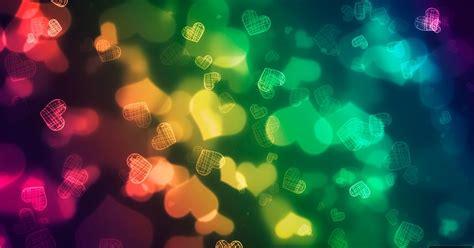 corazones multicolor fondo de pantalla imagenes