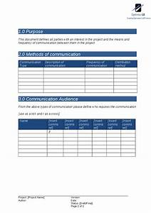 communications plan project management template hashdoc With project management communications plan template