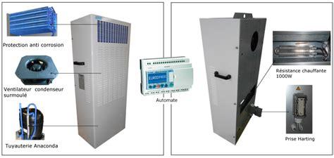 climatiseur d armoire electrique climatisation redondante pour shelter de t 233 l 233 communication