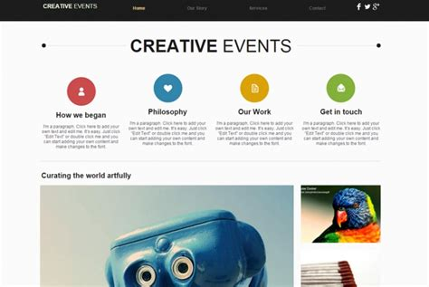 wix free templates 15 newest free templates from wix freebies