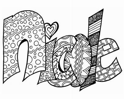 Coloring Printable Names Graffiti Impertinent Getcolorings Printables