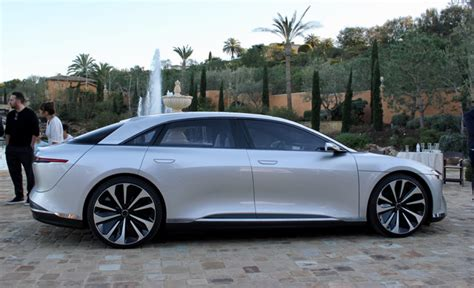 Ultraluxury Lucid 'air' Will Start At $52,500 With 240