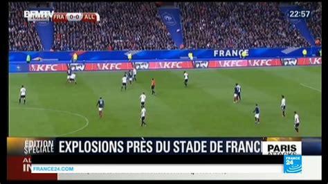 paris attacks overview  stade de france suicide