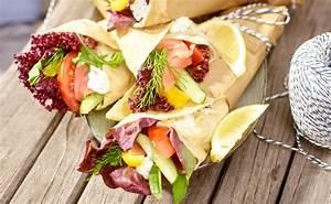 Lachs Mit Gemüse : wraps mit lachs und gem se rezept gusto at ~ Orissabook.com Haus und Dekorationen