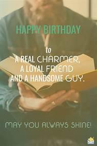Happy Birthday Wishes For Guy Friend