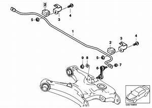 Original Parts For E39 525d M57 Touring    Rear Axle   Stabilizer Rear