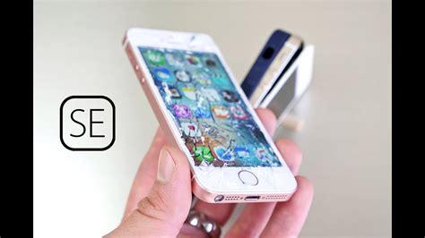 iphone 5s test iphone se drop test vs 5s
