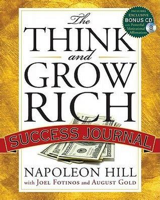 grow rich success journal  napoleon hill