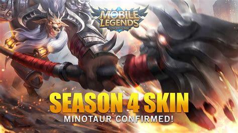 Mobile Legends Season 4 Minotaur